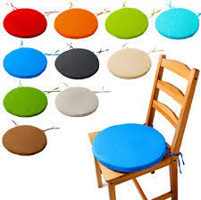 Waterproof Chair Pads Round Garden Chair Cushion Pad Only Waterproof Outdoor Bistro