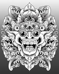 barong another abstract depiction i m really into inspiration