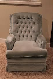 Upholster A Sofa How To Reupholster A Swivel Rocker Chair Gluesticks