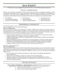 administrative resume template uncategorized management resume template administration resume