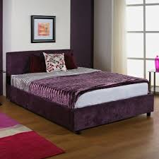 hf4you fabric upholstered bed frame 4ft small double deep