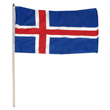Country Flags Small Iceland Flag 12 X 18 Inch
