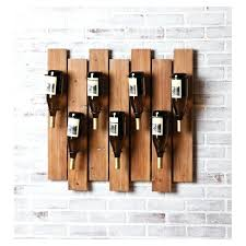 diy wine glass rack shelf reclaimed wood wine rack and glass