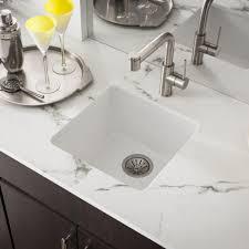 white quartz kitchen sink spotlight on quartz kitchen sink collections by elkay abode