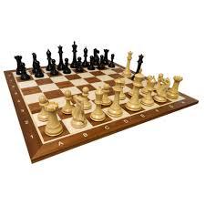 heirloom huge legionnaires ebonized chess set
