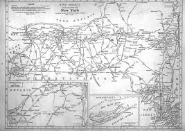 New York Central Railroad Map by Hawk U0026 Badger Railroad Railroad Maps North America
