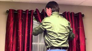 Sheer Maroon Curtains How To Layer A Curtain With A Sheer Curtain Curtains Window