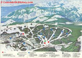 Colorado Ski Area Map by History Of The Wolf Creek Ski Area