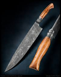 photos liam hoffman damascus chefs knife kitchen knives