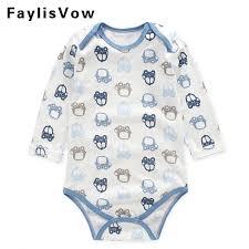 clearance baby cotton romper infant pajamas newborn boys