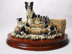 james herriot patience border collie dogs figurine border collie