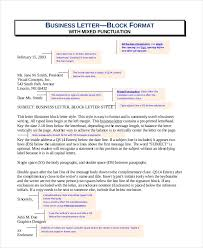 block letter format template 8 free word pdf documents