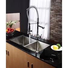 Kraus Kitchen Faucet Kraus Khu103 33 Kpf1602 Ksd30ch Stainless Steel Undermount Kitchen