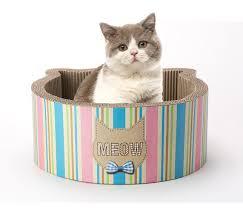 Cat Scratcher Cat Scratcher Bed Made In Japan 2 In 1 Combo