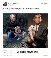 Obama Dog Meme - top putin official mocks obama s manhood ny daily news