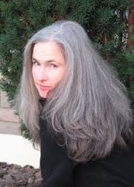 hairstyles for thick grey hair koo stark and her long gorgeous gray hair description from