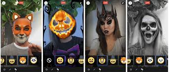facebook live gets spooky face filters for halloween