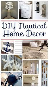 diy nautical home decor diy nautical decor roundup beach craft and room