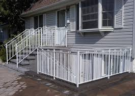 aluminum handrail for stairs deck railing systems infinity