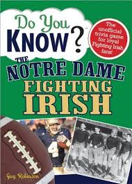 Armchair Quarterbacks Buy Do You Know The Notre Dame Fighting Irish A Hard Hitting