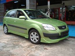 kia rio hatchback 2006 pur car ground effect bodykit polarg
