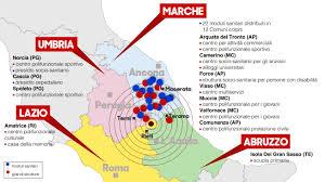 Norcia Italy Map Terremoto Centro Italia Sisma Centro Italia U2013 Croce Rossa Non