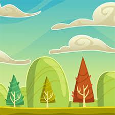 coloriage paysage sur hugolescargot com