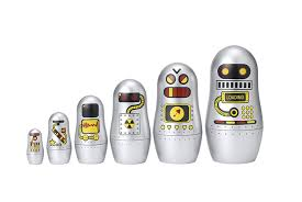amazon com matryoshka madness robot toys u0026 games