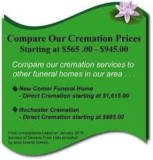 price of cremation services gpl cremation service of western new york proudly se