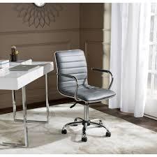 Upholstered Swivel Desk Chair Desk Chairs