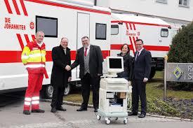 Bad Berga Spende Für Mobile Johanniter Arztpraxis