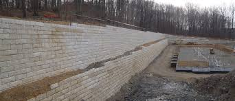 Recon Retaining Wall by Northeast Concrete Recon Retaining Wall Systems Nj Ny Precast