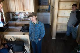 high students build tiny homes for flood victims west