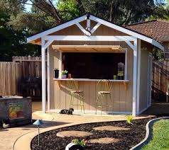 Cool Backyard Ideas Really Cool Backyard Bar Ideas