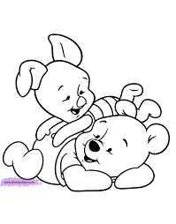 baby winnie the pooh characters coloring pages kids coloring