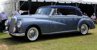 mercedes adenauer file 1954 mercedes 300b cabrio jpg wikimedia commons