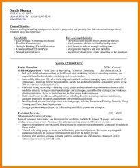 sample chronological resume templat 11 human resource recruiter