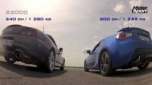 subaru honda drag race subaru brz vs honda s2000 motorsport youtube