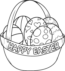 blank easter baskets easter egg coloring page blank egg coloring page on easter egg