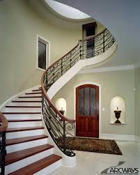 alluring round stairs design curved stairs curved staircase