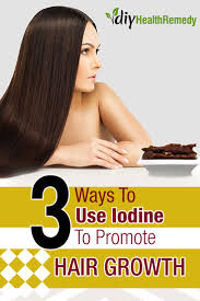 Vitamin Deficiency And Hair Loss 3 Ways To Use Iodine To Promote Hair Growth Diy Health Remedy