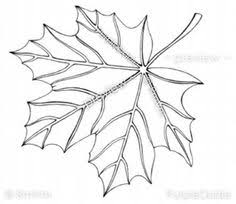 autumn leaves coloring page for grown ups instant download fall