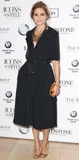 dress black olivia palermo shirt dress bag gold clutch