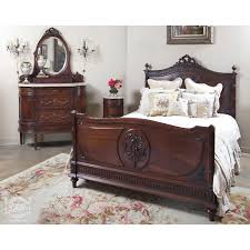 Antique Bedroom Furniture Styles Bedroom Furniture Antique Bed Headboards Vintage Style Single