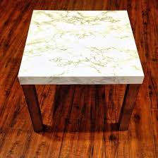ikea lack turned to marble accent table dream home much