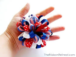 how to make a loopy puff bow the ribbon retreat