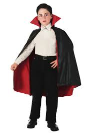 child reversible vampire cape