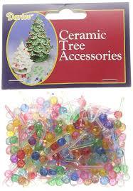 fine decoration ceramic christmas tree bulbs lights twist national