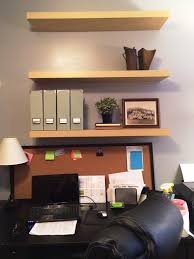 home office makeover progress we have shelves the spiffy company