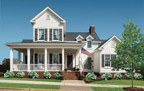 Southern House The All American Cottage Wellborn Cabinets Valspar Paint And